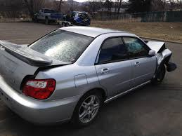 sti subaru 2004 2004 subaru impreza wrx sedan 5 speed full part out 131k the