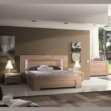 chambre adulte bois adulte complète contemporaine wagram bois et verre laqué