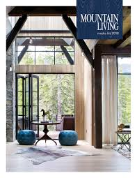 advertise mountain living mountain homes design u0026 architecture