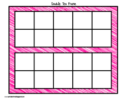 number names worksheets ten frame activities for first grade