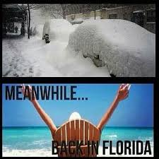 Florida Rain Meme - 5 reasons central florida is the best place to live in the winter