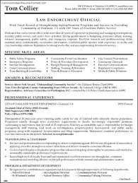 law enforcement resume templates free samples examples