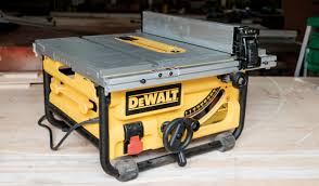 dewalt table saw review dewalt dwe7480 10 compact job site table saw ptr