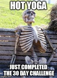 Challenge Completed Meme - waiting skeleton meme imgflip