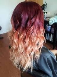 blonde and burgundy hairstyles burgundy and blonde hair color ideas burgundy and blonde