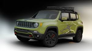 commando green jeep lifted 2015 jeep renegade off road mopar equipped review top speed