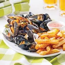 cuisine et moules frites à la belge recettes cuisine et nutrition