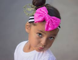 big bows for hair big bow headbands baby black white striped