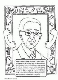 Search Famous African Americans Jackie Robinson And Major League Jackie Robinson Coloring Page