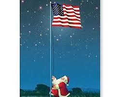 patriotic christmas cards pool christmas tree card 18 cards envelopes