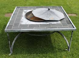 Firepits Uk Firepit Table 120sq Large Slate 60cm Firepit Firepits Authentic