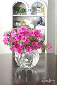 Large Round Glass Vase Creative Diy Flower Arrangements And Unique Vessels