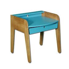Petit Bureau Vintage Bleu Pour Enfant Vintage Univers Des Bureau Vintage