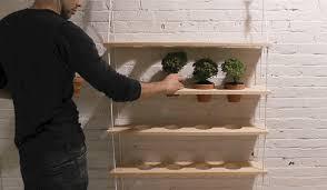 how to make an indoor vertical herb garden survival life