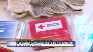 pbc emergency management monitoring hurricane irma wptv com