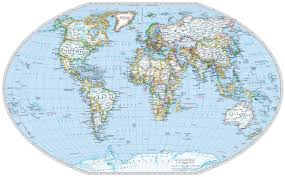 map of erth detailed flat earth map