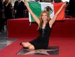 mexican singer and television star thalia poses with the mexican