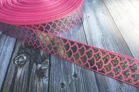 mermaid ribbon mermaid scale ribbon be a mermaid mermaid ribbon pink