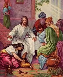 file woman washes feet of jesus with tears jpg the work of god u0027s