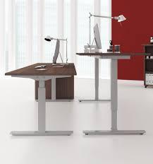 Einfacher Schreibtisch Schreibtisch Elektrisch Höhenverstellbar 2 Systeme