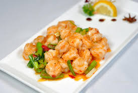 cuisine crevette cuisine chinoise crevette frite image stock image du frit