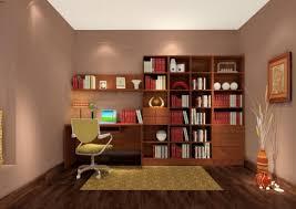 3d study room bookcase designs 3d house