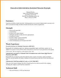 Sample Of Administrative Assistant Resume by Administrative Assistant Resume Objective Examples Free Resume