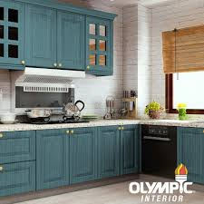 what is gel stain for cabinets olympic 1 qt blue fjord semi transparent based interior exterior gel stain