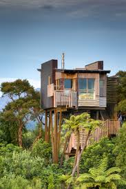 Cool Tree Houses 7 Treehouse Hotels That Reach New Heights In Design House