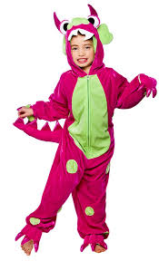 Halloween Costumes Boys Age 9 Pink Polka Dot Monster Fancy Dress Kids Halloween Girls Childs