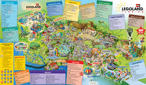 Orlando Parks Map by Behind The Thrills Legoland Florida