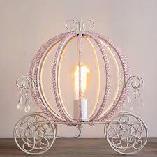Carriage Light Rolita White Metal Beaded Cinderella U0027s Carriage Single Light Table