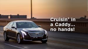 future cadillac cruisin u0027 in a new cadillac no hands video business news