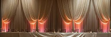 wedding drapery drape for your chicagoland wedding or corporate event