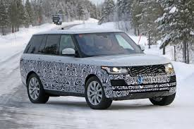 old land rover models a tiny facelift for range rover u0027s biggest model in 2017 by car