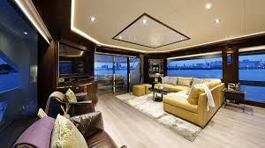 Home Yacht Interiors Design Horizon Yachts Fd85 Interior Design Let U0027s Take A Look New Yacht