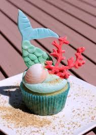 mermaid cupcakes mermaid inspired birthday cupcakes
