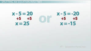 how to solve an absolute value equation video u0026 lesson