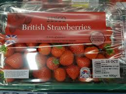 British Flag With Red Scottish Produce Is Being Labelled With The Union Flag And