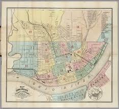 Map Of Cincinnati Cincinnati Newport And Covington David Rumsey Historical Map