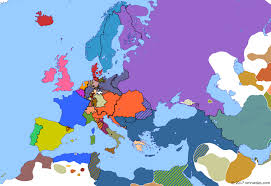 map of eurup year of revolution begins historical atlas of europe 24