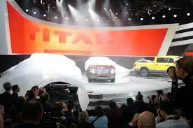 nissan titan detroit auto show cummins powered nissan titan its official