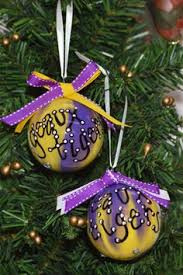 coton colors lsu tiger eye ornament things i don t need but want