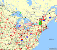map of ne usa and canada driving map northeast us northeastern united states map thempfa org