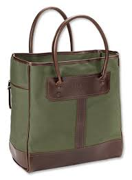 canvas and leather tote bag bootlegger leather u0026 canvas tote bag