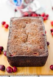 thanksgiving cranberry cranberry gingerbread