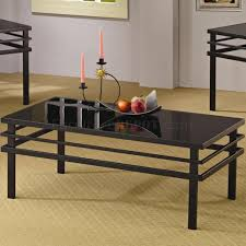 table modern black glass coffee table craftsman medium modern