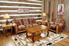 brown leather tufted comfy sofa varnished wood floor tile western