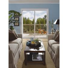 Best Sliding Patio Doors Reviews Silver Line 6 0 X 6 8 Series 5700 White Vinyl Sliding Patio Door