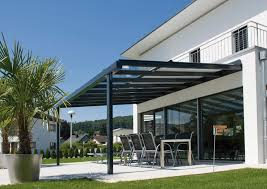 glass door canopies wall mounted pergola thermo lacquered aluminum glass with